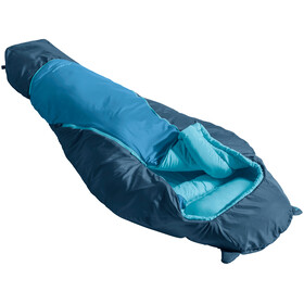 VAUDE Alpli Adjust 400 Syn Sleeping Bag Kids baltic sea